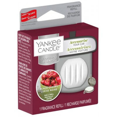 Yankee Candle Charming Scent náhradní náplň Black Cherry