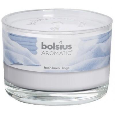 Bolsius Aromatic Vonná svíčka Fresh Linen