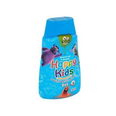 Happy Kids sprchový gel a šampón s vůní lesních plodů