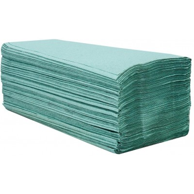 RollPap Papírové ručníky skládané Zelená