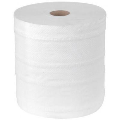 RollPap Utěrky MAXI Cel, Bílá 2-vrstvé,