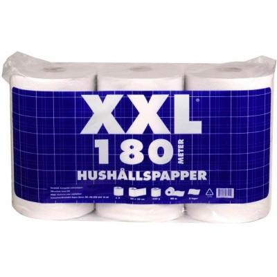 RollPap Kuchyňské utěrky Hushallpaper XXL 2-vrstvé, 180m