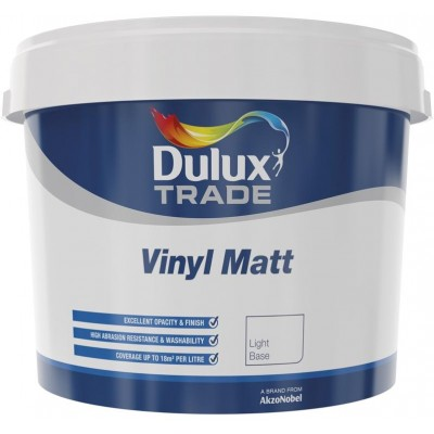 Dulux - Vinyl Matt Light 10l