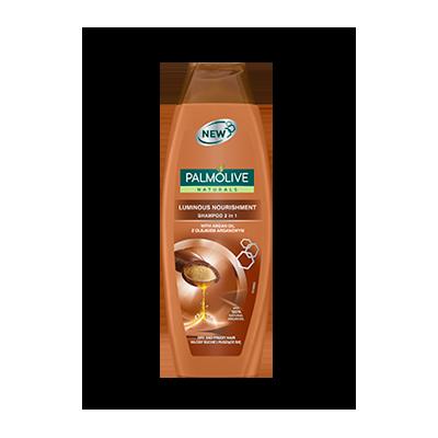 Palmolive Šampón na vlasy a kondicionér 2v1 Naturals Luminous Nourishm