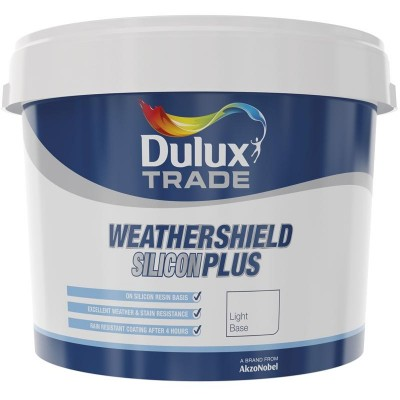 Dulux - Weathershield Silicon Plus base - Light 10l