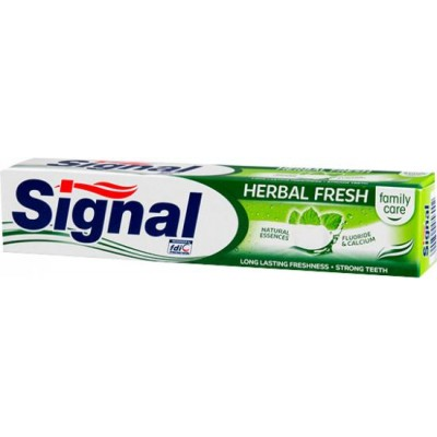 Signal Family Herbal Fresh zubní pasta 75 ml