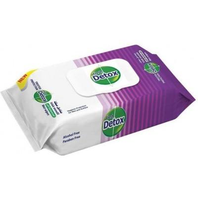 Detox vlhčené antibakteriální ubrousky 60ks