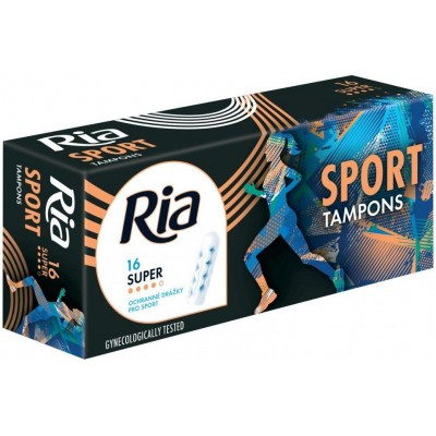 Ria Sport Super tampony 16 ks