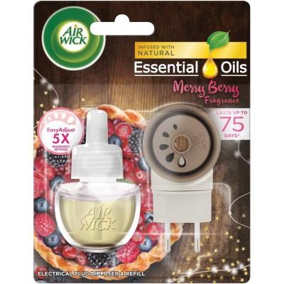 Air Wick Elektrický osvěžovač vzduchu + náplň Merry Berry 19 ml