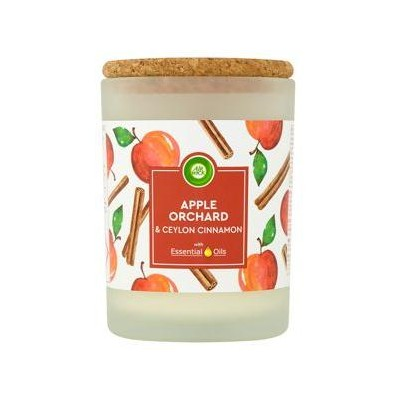 Air Wick Essential Oils svíčka - Jablečný sad 185 g