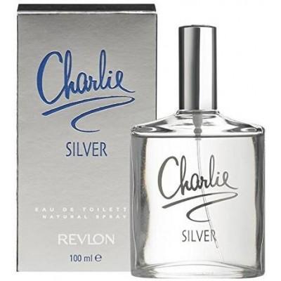 Revlon Toaletní voda Charlie Silver 100 ml