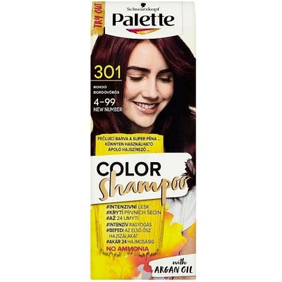 Schwarzkopf Palette Color Shampoo barva na vlasy - 301