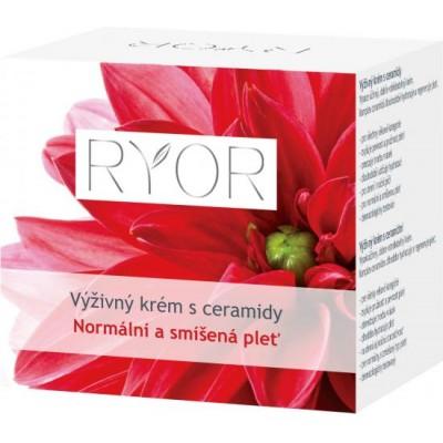Ryor výživný krém s ceramidy normální a smíšená pleť 50 ml