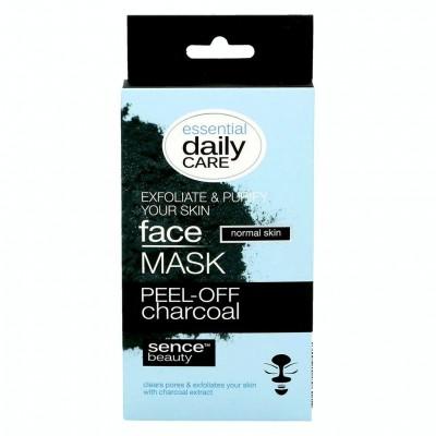 Sencebeauty Maska na obličej Charcoal Peel-off 5 x 7g