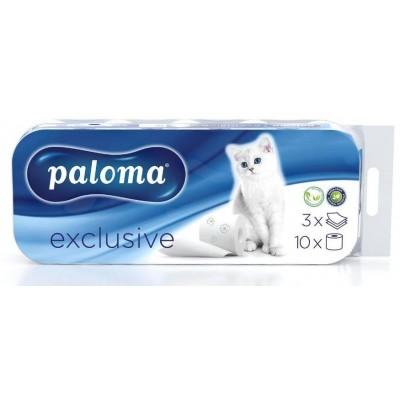 Paloma Toaletní papír 3-vrstvý Exclusive s vůní 10 ks