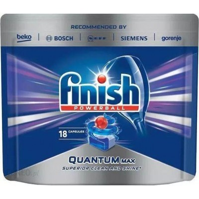 Finish Powerball Quantum Max Tablety do myčky 18 ks