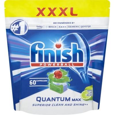 Finish Powerball Quantum Max Apple&Lime Tablety do myčky 60 ks