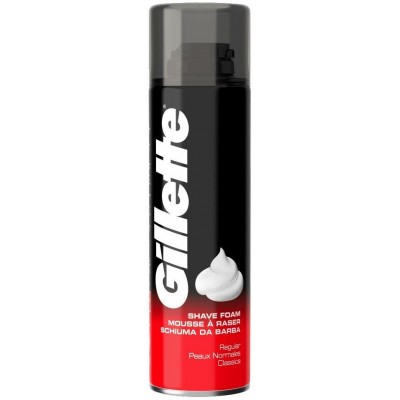 Gillette Pěna na holení Regular 200 ml