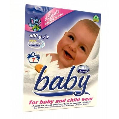 Milli Baby prací prášek na dětské prádlo 600g