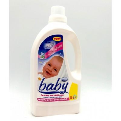 Milli Baby dětský tekutý prací gel 1,5l