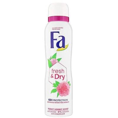 Fa Antiperspirant Fresh & Dry Peony Sorbet Scent 150 ml