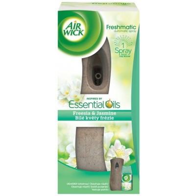 Air Wick Freshmatic strojek + náplň Bílé květy frézie 250 ml