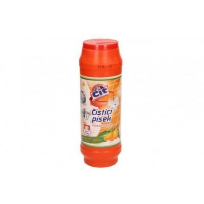 Cit Čistící práškový písek na nádobí Pomeranč 500g