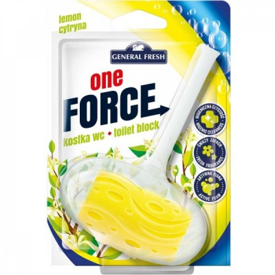 General Fresh WC závěs One Force Lemon 40 g