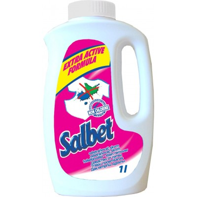 Salbet tekutý odstraňovač skvrn 1l