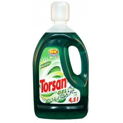 Torsan Green power prací gel 4,5l (60 PD)