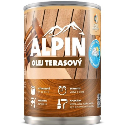 Alpin Olej Terasový 0,5l