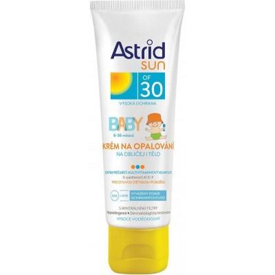 Astrid Sun OF30 Dětský krém na opalování na obličej i tělo 75 ml