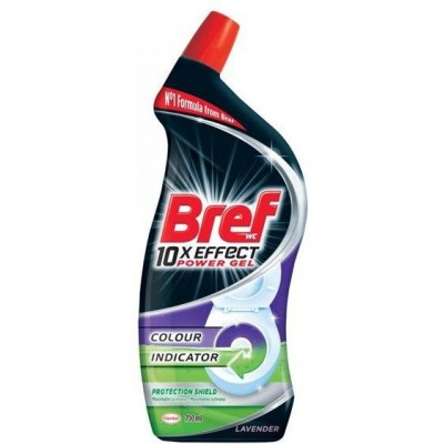 Bref WC Power gel Protection shield Lavender 700 ml