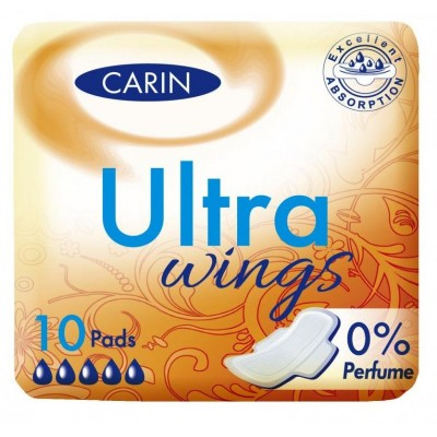 Carin Ultra Wings vložky 10 ks