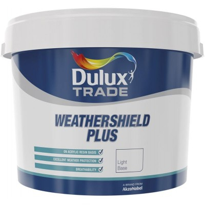 Dulux - Weathershield Plus base - Light 10l