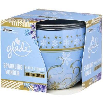 Glade Sparkling Winter svíčka 120 g