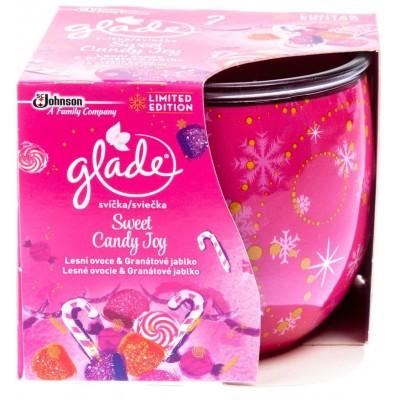 Glade Sweet Candy Joy svíčka 120 g