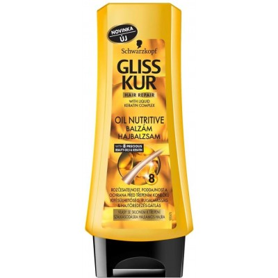 Gliss Kur Balzám na vlasy Oil Nutritive 200 ml