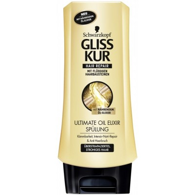 Gliss Kur Balzám na vlasy Ultimate Oil Elixir 200 ml