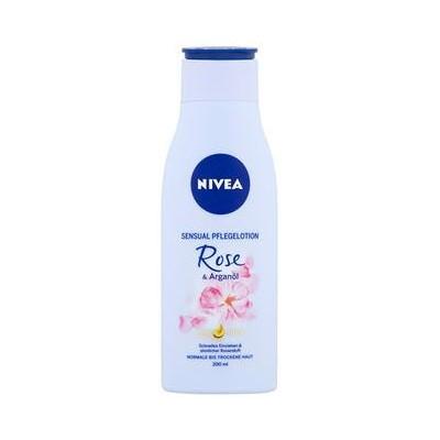 Nivea Tělové mléko s olejem Rose & Argan Oil 200 ml