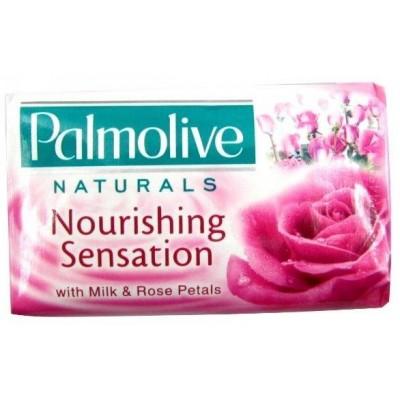 Palmolive Toaletní mýdlo Milk&Rose Petals 90 g