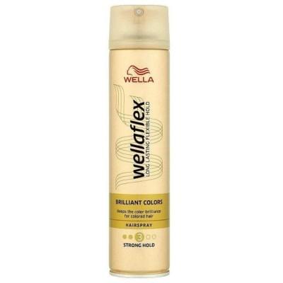 Wella Wellaflex Brilliant Colour lak na vlasy 250 ml