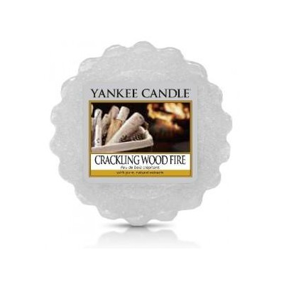 Yankee Candle Vosk do aromalampy Crackling Wood Fire 22 g