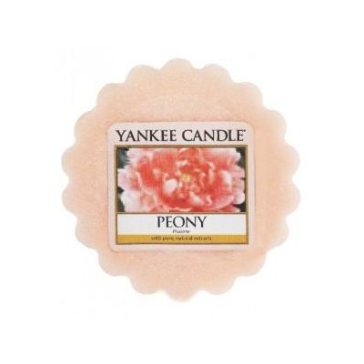 Yankee Candle Vosk do aromalampy Peony 22 g