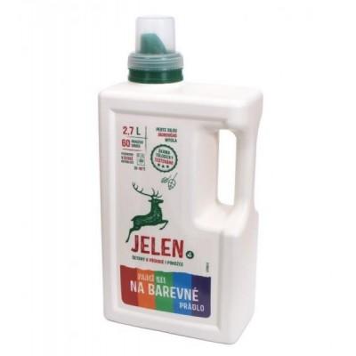 Jelen Prací gel na barevné prádlo 2,7 l