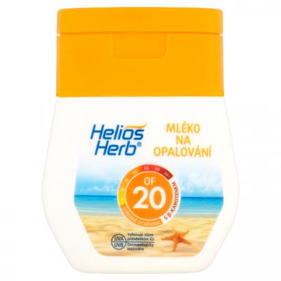 Helios Herb mléko na opalování OF 20 50 ml