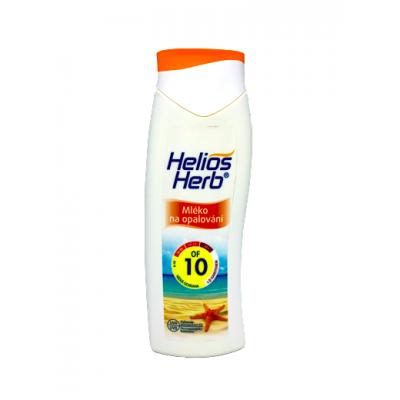 Helios Herb mléko na opalování OF 10 200 ml