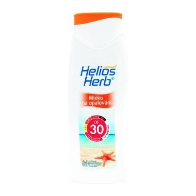 Helios Herbal mléko na opalování OF 30 200 ml