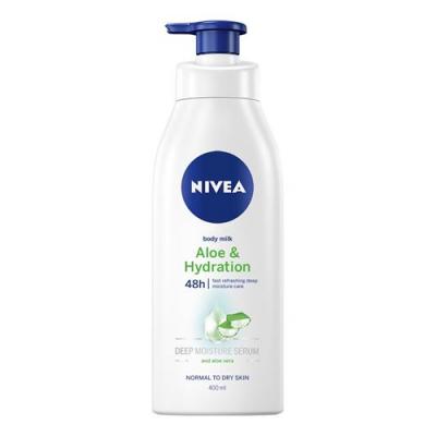 Nivea Lehké tělové mléko s Aloe & Hydration 400 ml