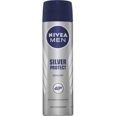 Nivea Men Antiperspirant Silver Protect 150 ml